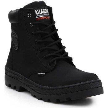 Buty Damskie Trampki wysokie Palladium Manufacture Pallabosse SC Waterproof 96868-008-M czarny