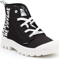 Buty Trampki wysokie Palladium Pampa HI Future 76885-002-M biały, czarny