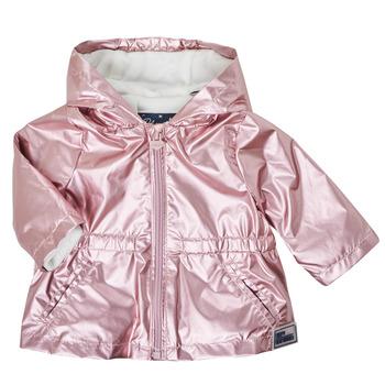 tekstylia Dziewczynka Kurtki ocieplane Ikks XS42010-31 Różowy