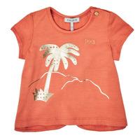 tekstylia Dziewczynka T-shirty z krótkim rękawem Ikks XS10080-67 Pomarańczowy