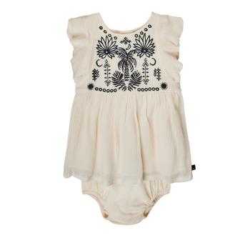 tekstylia Dziewczynka Sukienki krótkie Ikks XS30060-11 Biały