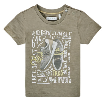 tekstylia Chłopiec T-shirty z krótkim rękawem Ikks XS10141-57 Kaki