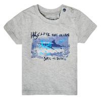 tekstylia Chłopiec T-shirty z krótkim rękawem Ikks XS10031-24 Szary