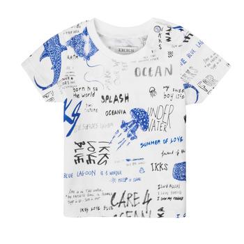 tekstylia Chłopiec T-shirty z krótkim rękawem Ikks XS10021-19 Wielokolorowy