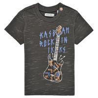 tekstylia Chłopiec T-shirty z krótkim rękawem Ikks XS10091-27 Szary