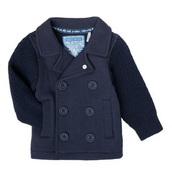 tekstylia Chłopiec Swetry rozpinane / Kardigany Ikks XS17001-48 Marine