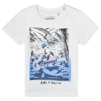 tekstylia Chłopiec T-shirty z krótkim rękawem Ikks XS10051-19 Biały