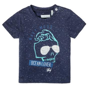 tekstylia Chłopiec T-shirty z krótkim rękawem Ikks XS10011-48 Marine