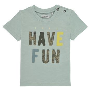 tekstylia Chłopiec T-shirty z krótkim rękawem Ikks XS10131-50 Niebieski