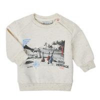 tekstylia Chłopiec Bluzy Ikks XS15011-60 Biały