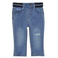 tekstylia Chłopiec Jeansy slim fit Ikks XS29001-83 Niebieski