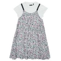 tekstylia Dziewczynka Sukienki krótkie Ikks XS30182-19-J Wielokolorowy