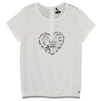 tekstylia Dziewczynka T-shirty z krótkim rękawem Ikks XS10242-19-J Biały