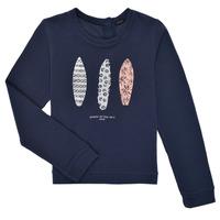 tekstylia Dziewczynka Bluzy Ikks XS15012-48-J Marine