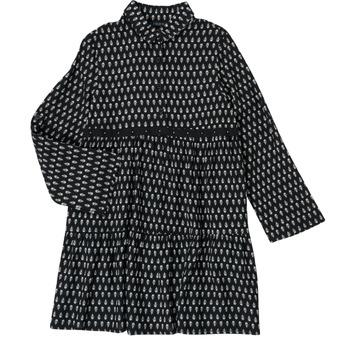 tekstylia Dziewczynka Sukienki krótkie Ikks XS30002-02-C Czarny