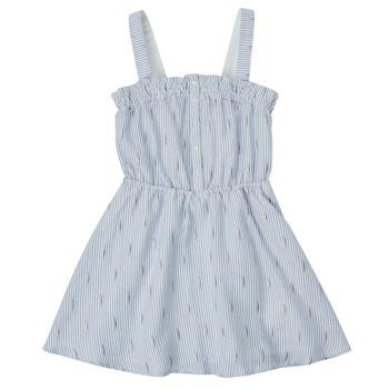 tekstylia Dziewczynka Sukienki krótkie Ikks XS31022-48-C Niebieski
