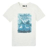 tekstylia Chłopiec T-shirty z krótkim rękawem Ikks XS10183-22-C Biały