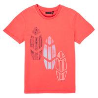 tekstylia Chłopiec T-shirty z krótkim rękawem Ikks XS10043-79-C Czerwony