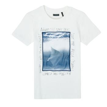 tekstylia Chłopiec T-shirty z krótkim rękawem Ikks XS10033-19-C Biały
