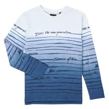 tekstylia Chłopiec T-shirty z długim rękawem Ikks XS10003-19-C Wielokolorowy