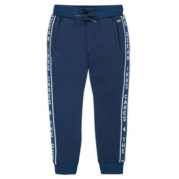 tekstylia Chłopiec Spodnie dresowe Ikks XS23003-48-C Marine