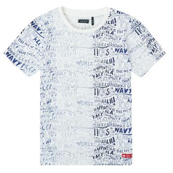 tekstylia Chłopiec T-shirty z krótkim rękawem Ikks XS10063-19-C Wielokolorowy