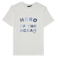 tekstylia Chłopiec T-shirty z krótkim rękawem Ikks XS10343-19-C Biały