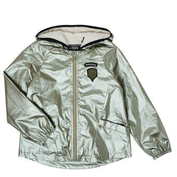 tekstylia Dziewczynka Kurtki krótkie Ikks XS41042-57-C Złoty