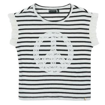 tekstylia Dziewczynka T-shirty z krótkim rękawem Ikks XS10022-19-J Wielokolorowy