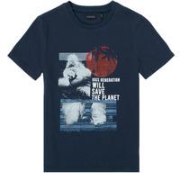 tekstylia Chłopiec T-shirty z krótkim rękawem Ikks XS10013-48-J Marine