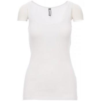 tekstylia Męskie T-shirty z krótkim rękawem Payper Wear T-shirt Payper Look blanc