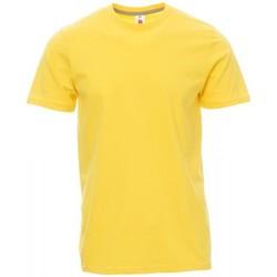 tekstylia Męskie T-shirty z krótkim rękawem Payper Wear T-shirt Payper Sunset jaune