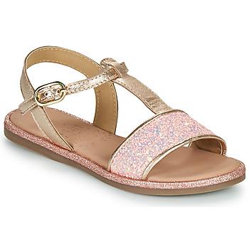 Buty Dziewczynka Sandały Mod'8 PAILLETTA Różowy