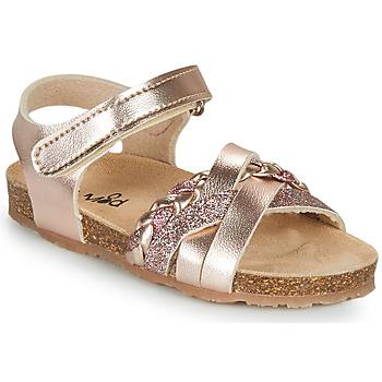 Buty Dziewczynka Sandały Mod'8 KOENIA Różowy / Gold