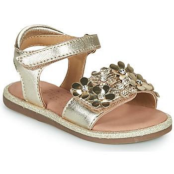 Buty Dziewczynka Sandały Mod'8 PARLOTTE Złoty