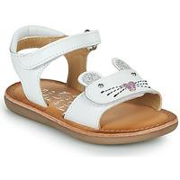 Buty Dziewczynka Sandały Mod'8 CLOONIE Biały