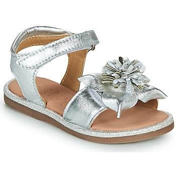 Buty Dziewczynka Sandały Mod'8 PAXILLA Srebrny