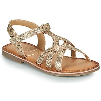 Buty Dziewczynka Sandały Mod'8 CANISA Złoty