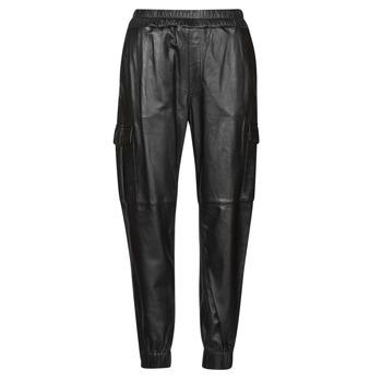 tekstylia Damskie Spodnie z pięcioma kieszeniami Oakwood CARGO Czarny