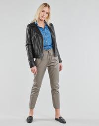 tekstylia Damskie Spodnie z pięcioma kieszeniami Oakwood GIFT Szary