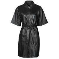 tekstylia Damskie Sukienki krótkie Oakwood BREAK Czarny