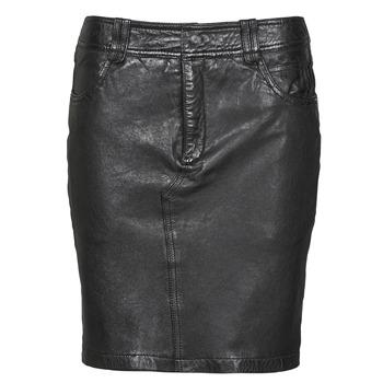 tekstylia Damskie Spódnice Oakwood CROSS Czarny