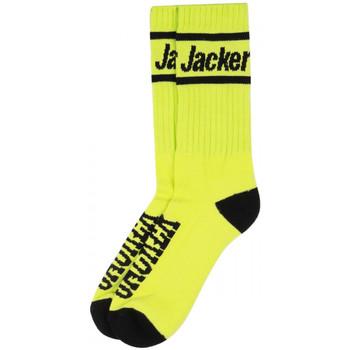 Dodatki Męskie Skarpety Jacker After logo socks Zielony