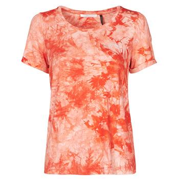 tekstylia Damskie T-shirty z krótkim rękawem Les Petites Bombes BRISEIS Pomarańczowy
