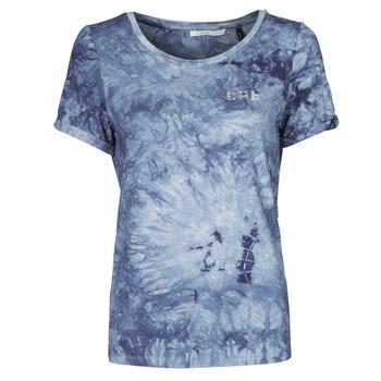 tekstylia Damskie T-shirty z krótkim rękawem Les Petites Bombes BRISEIS Marine