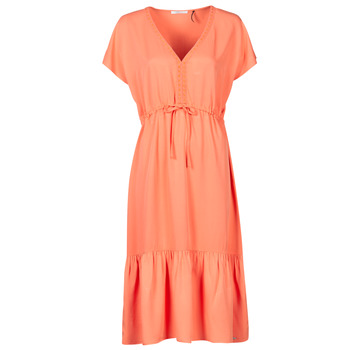 tekstylia Damskie Sukienki krótkie Les Petites Bombes BRESIL Pomarańczowy
