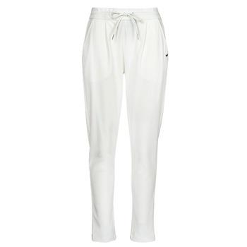 tekstylia Damskie Spodnie z lejącej tkaniny / Alladynki Les Petites Bombes ALEXANDRA Biały