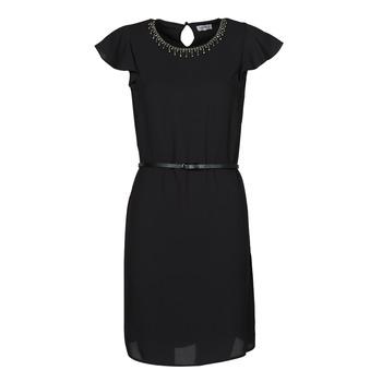 tekstylia Damskie Sukienki krótkie Liu Jo WA1561-T9767-22222 Czarny