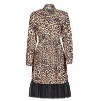 tekstylia Damskie Sukienki krótkie Liu Jo WA1218-T9147-T9680 Leopard