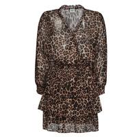 tekstylia Damskie Sukienki krótkie Liu Jo WA1530-T5059-T9680 Leopard